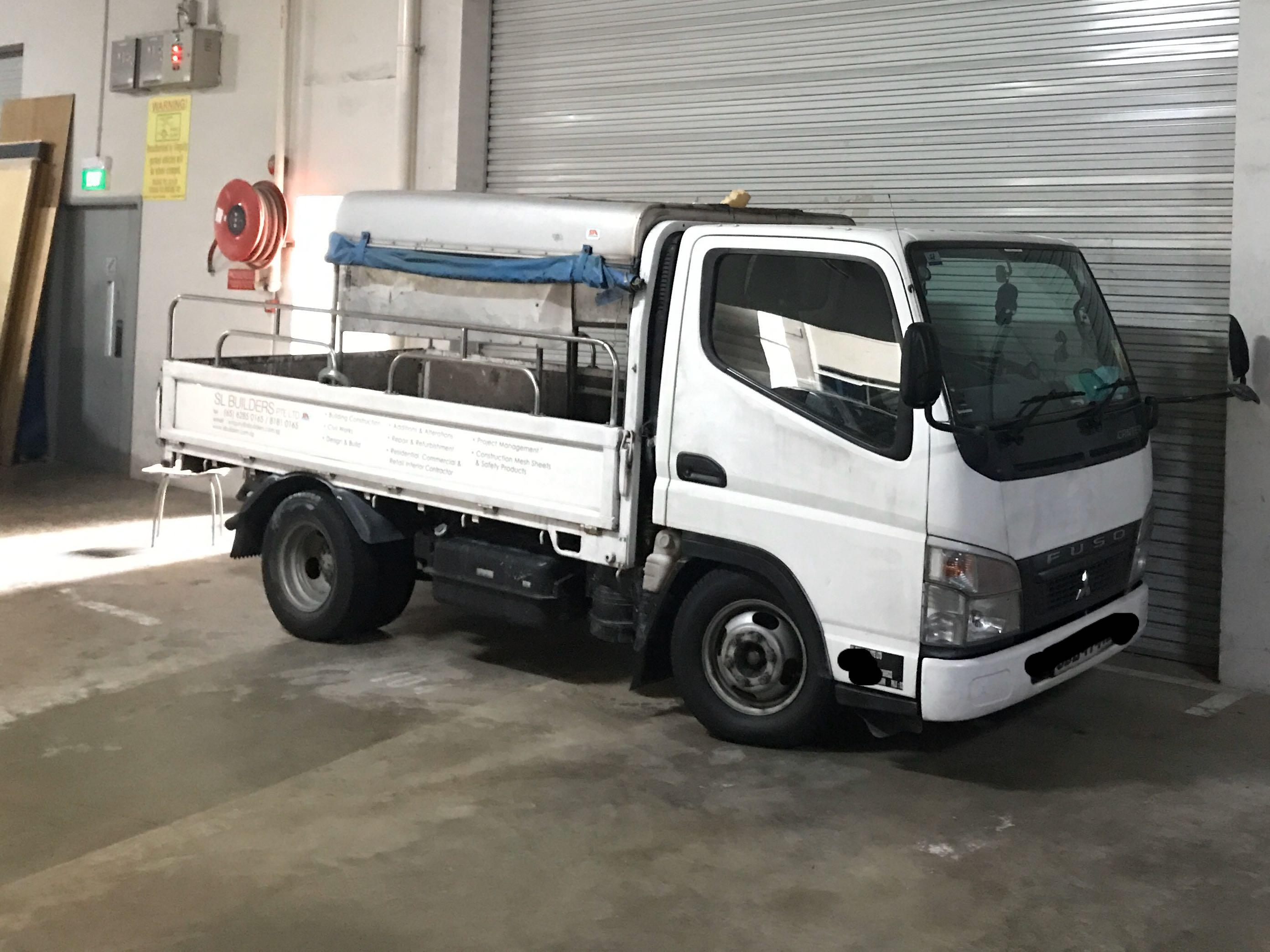 10ft lorry with driver for rental during Circuit Breaker period