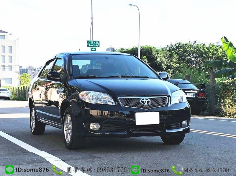 🔥2008年 豐田 VIOS 黑色 職軍專案二手車中古車🔥