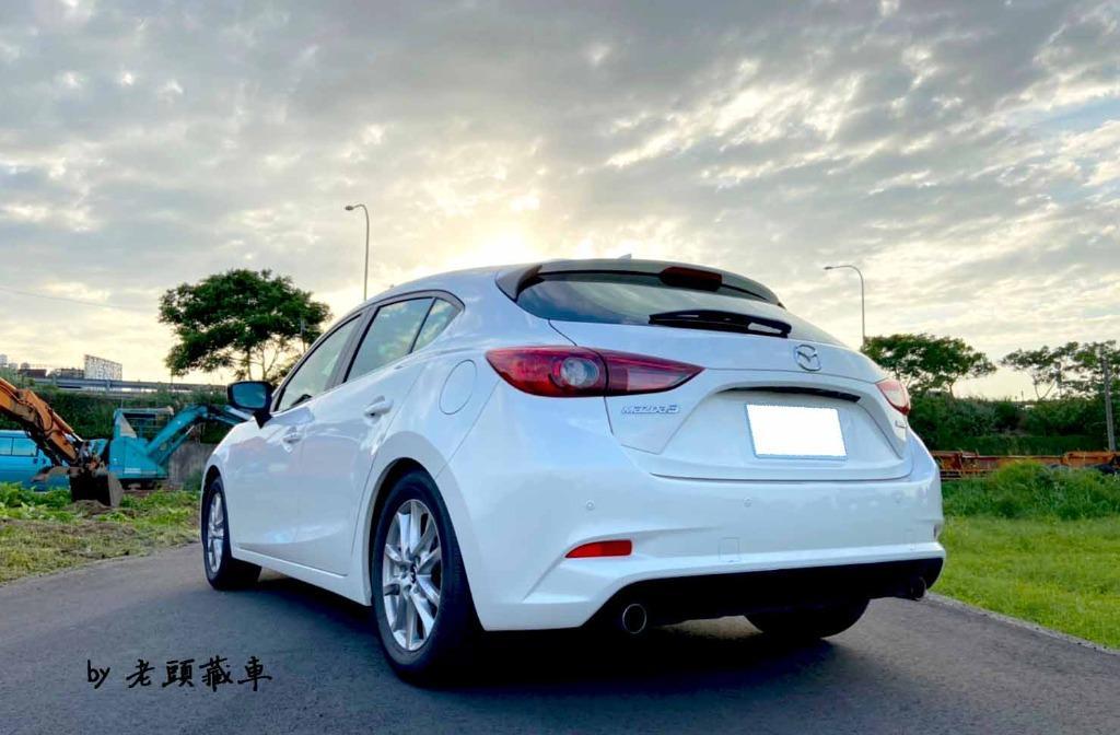 2018 魂動馬三 Mazda 3 原廠保固中 全原廠保養 僅跑三萬