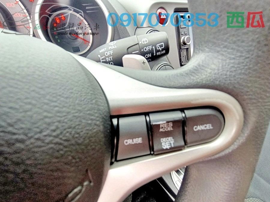 認證車 頂級 FIT 2012年 HONDA 有換檔切片 全車空力套件 無限尾翼 多功能影音 應有盡有!