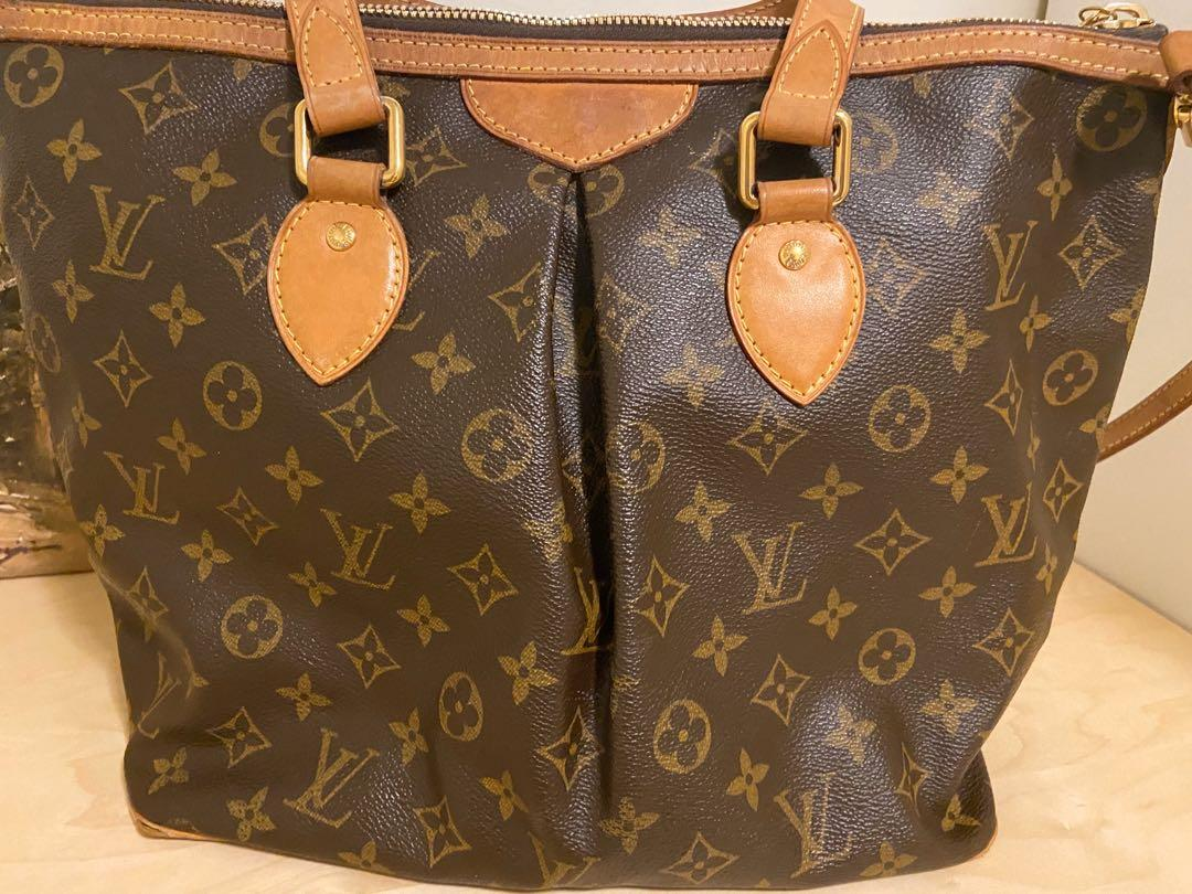 Authentic Louis Vuitton Discontinued Palermo PM Tote