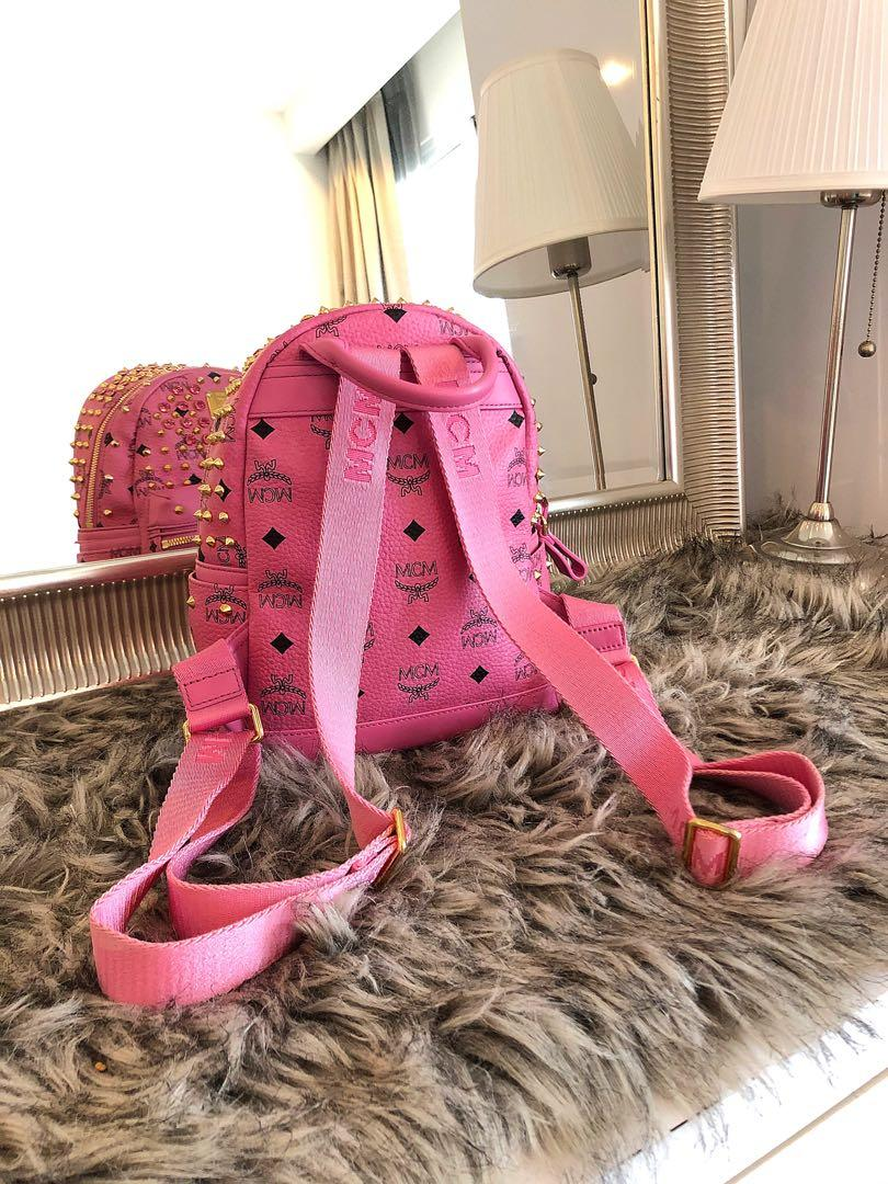 Authentic MCM Swarovski limited Backpack( like new only use twice and keep / no negotiable)
