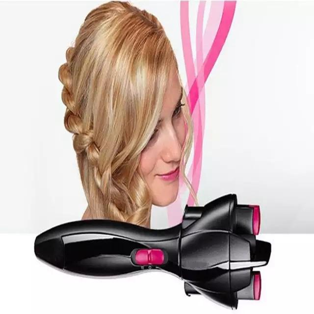 Automatic hair twister