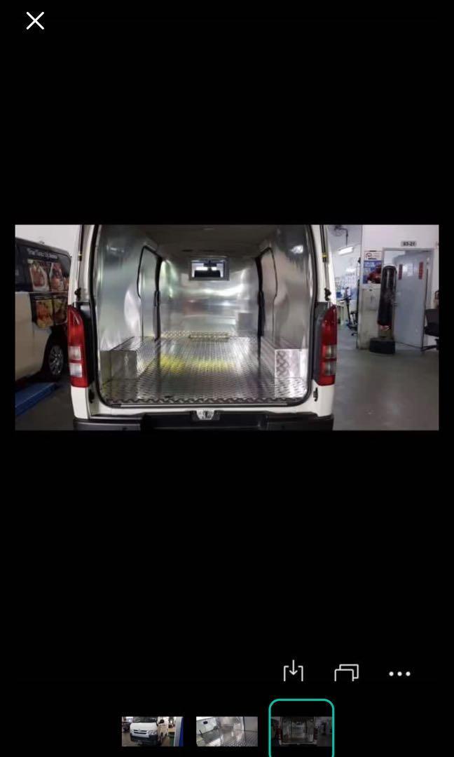 Brand new 2019 Toyota Hiace DX 2.8A 5 doors Van for rent