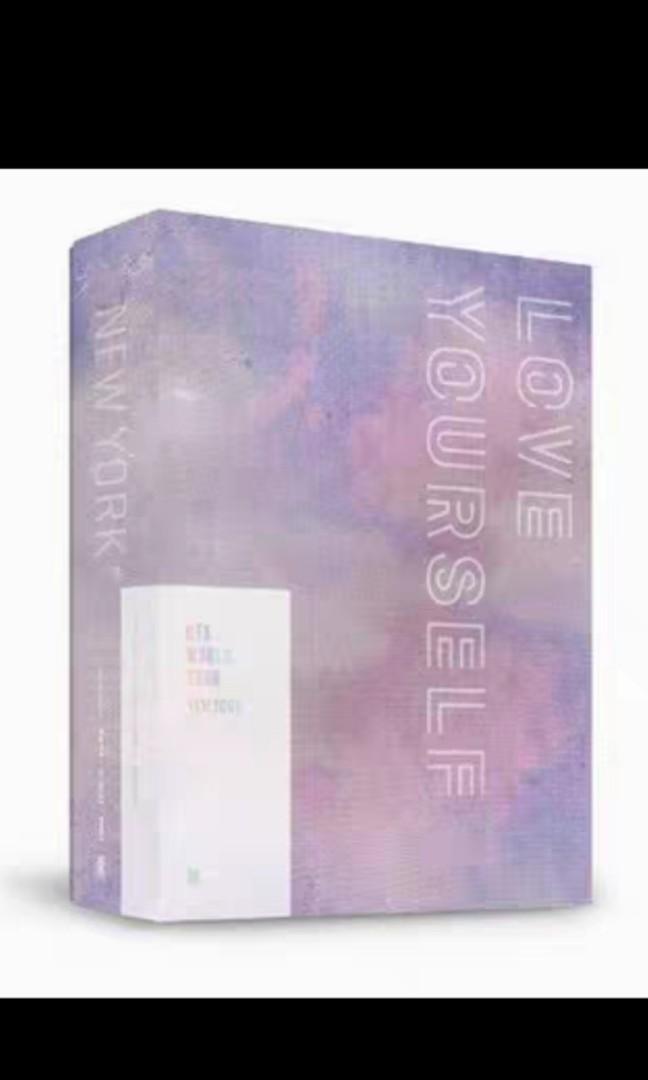 BTS LOVE YOURSELF WORLD TOUR LOVE YOURSELF DVD NEWYORK