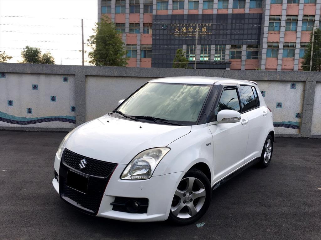 【FB搜尋桃園阿承】鈴木 超人氣SWIFT 2007年 1.5CC 白色 二手車 中古車