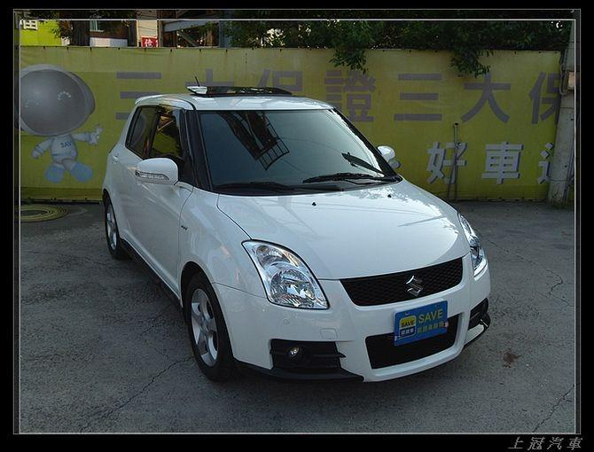 【FB搜尋桃園阿承】鈴木 超人氣SWIFT 2009年 1.5CC 白色 二手車 中古車