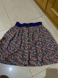Flower Skirt forever 21 mini rok