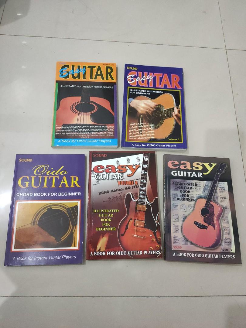 guitar chord book song learn music instrument educational non fiction complete set