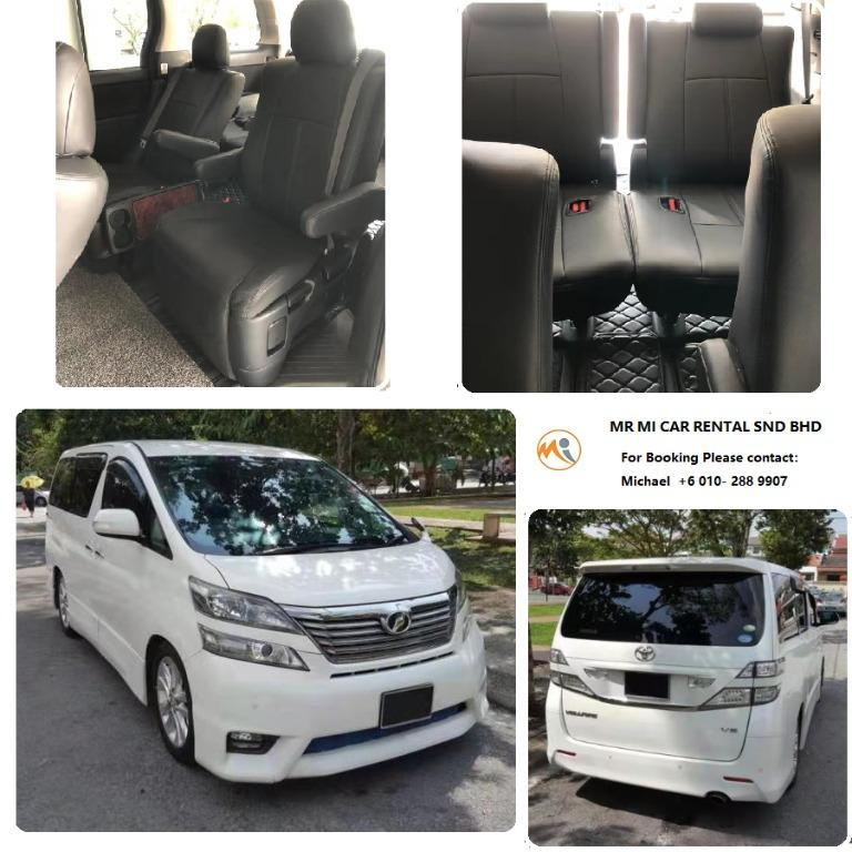 Hari Raya Big promotion Kereta Sewa Murah MPV ALPHARD / VELLFIRE Car For Rent Cyberjaya Kuala Lumpur Shah Alam Klang
