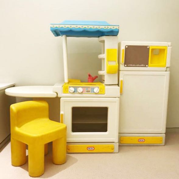 Little Tikes Vintage Kitchen Big Lot Of Matching Play Food Toys Games Others On Carousell