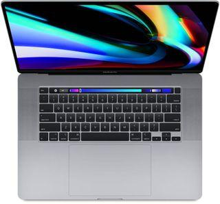 Macbook Pro 16 inches Space Gray with Touch Bar (2019)
