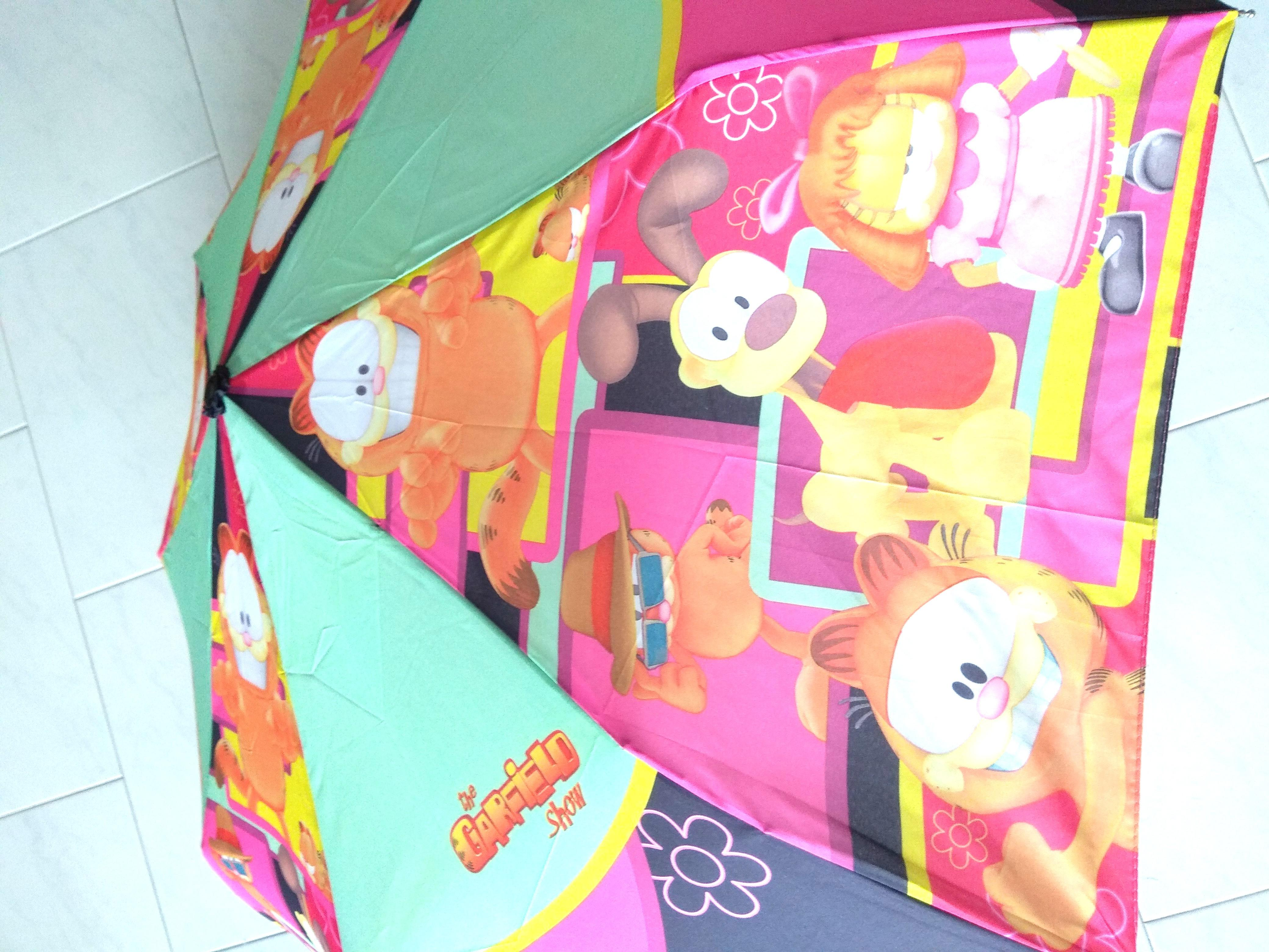 New Garfield Umbrella Design Craft Others On Carousell