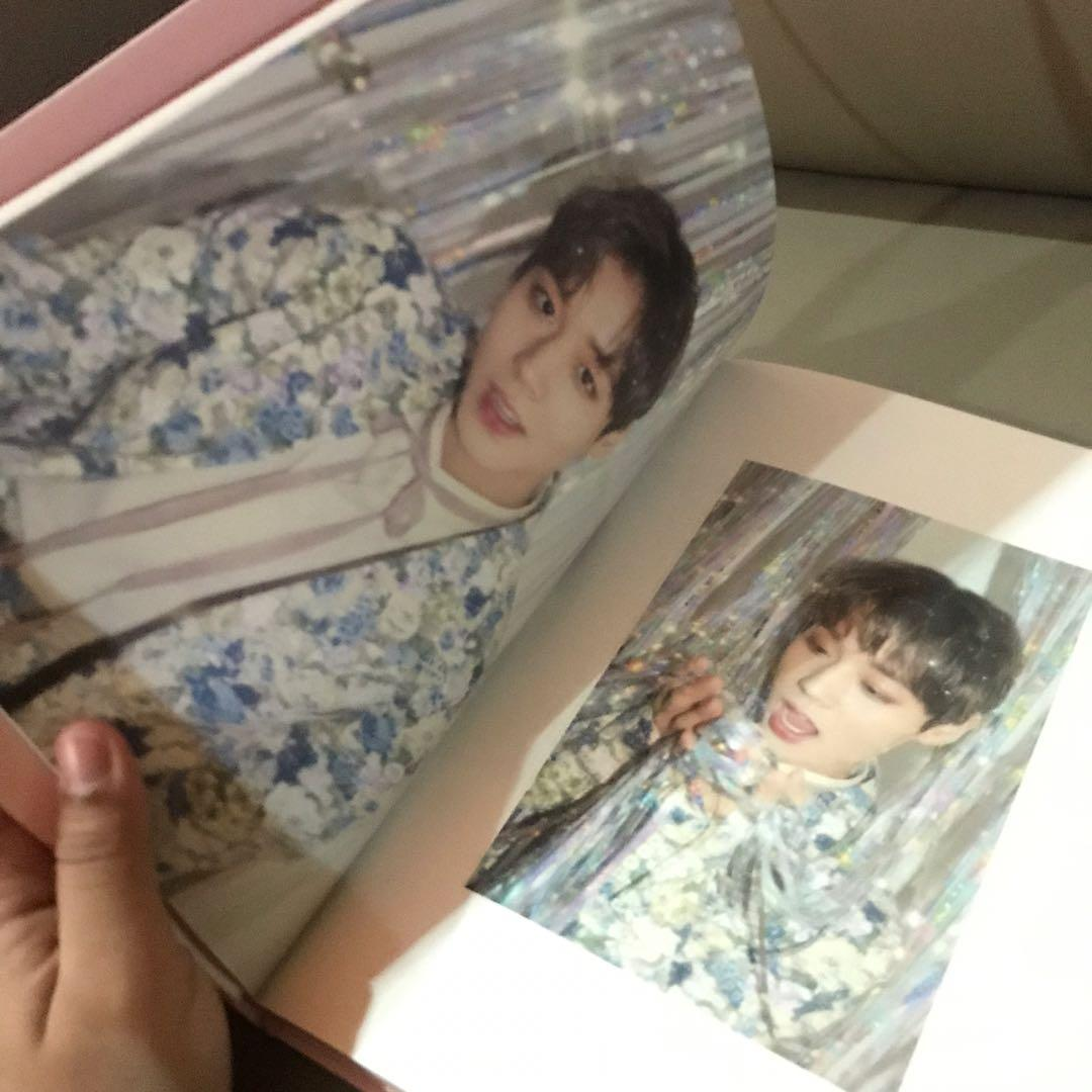 Park Jihoon Official Photobook & Photocard from First Fan Meeting