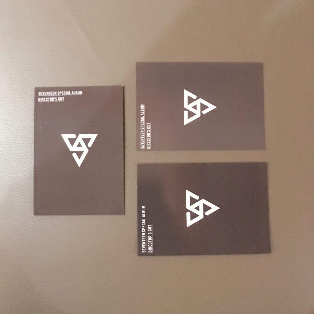Seventeen Group Unit Official Photocard Kinho Album