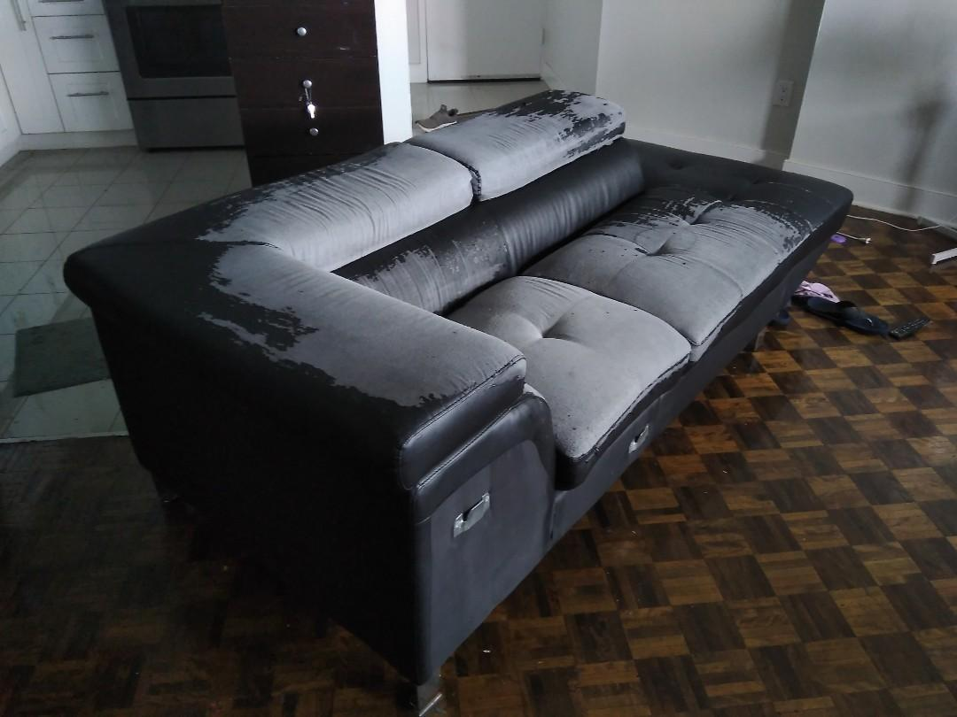 Single Sectional sofa