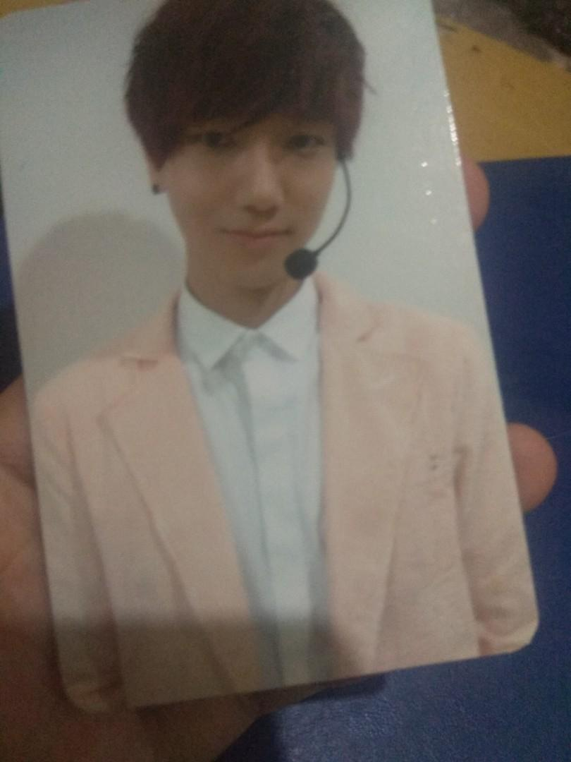Super Junior Yesung Sexy Free and Single (SFS) B. Ver Photocard