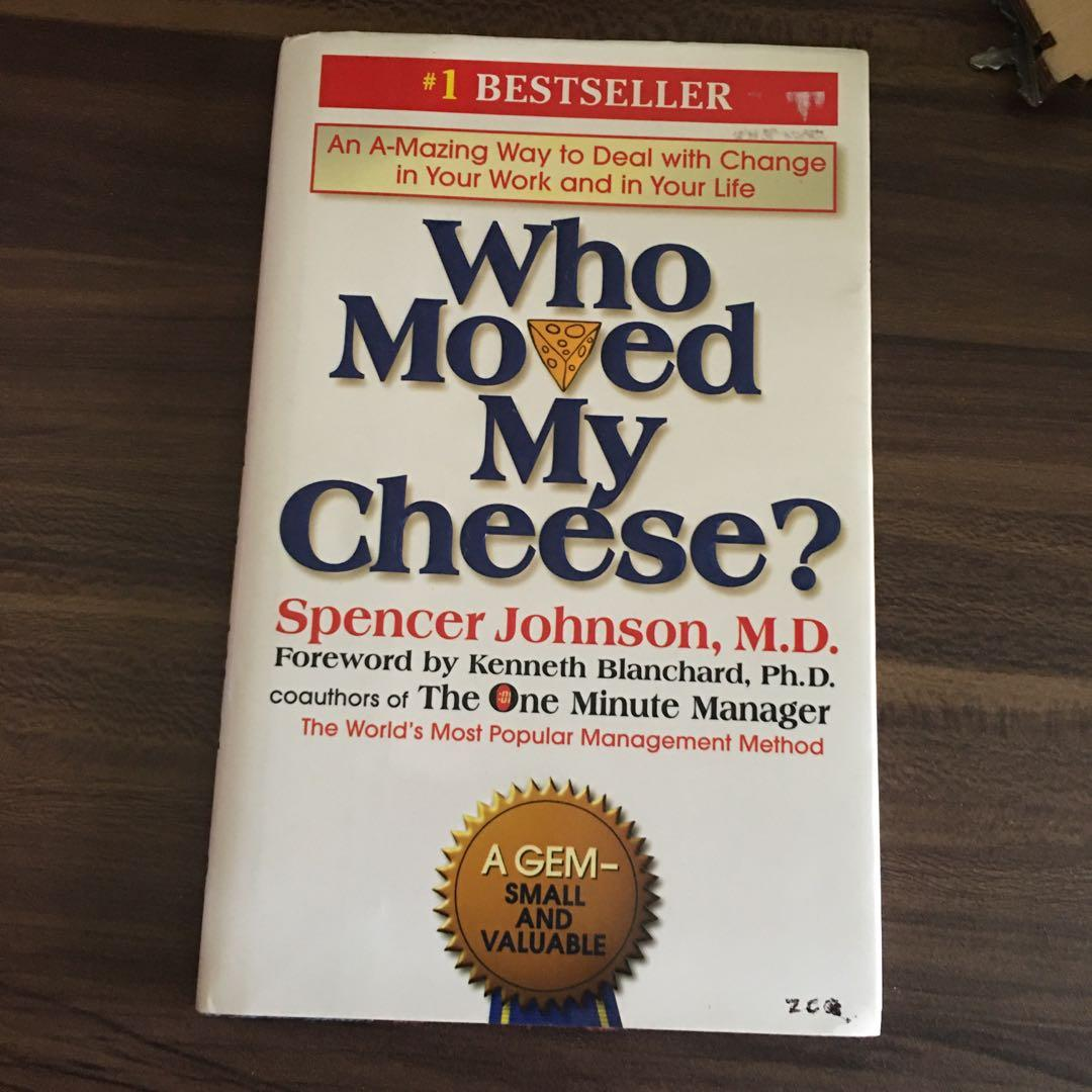 Who Moved My Cheese; One Minute Manager; Tuesdays with Morrie; The Kite Runner