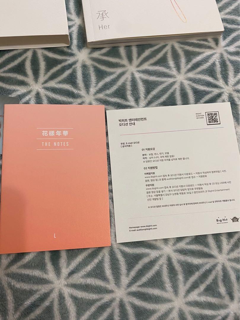 [WTS] BTS LOVE YOURSELF HER ALBUM VER. L (NAMJOON'S PC)