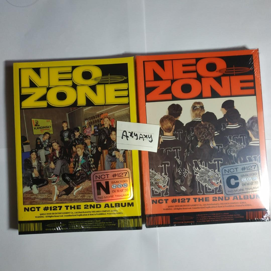 [WTS] NCT 127 Neo Zone N & C version Album [SEALED]