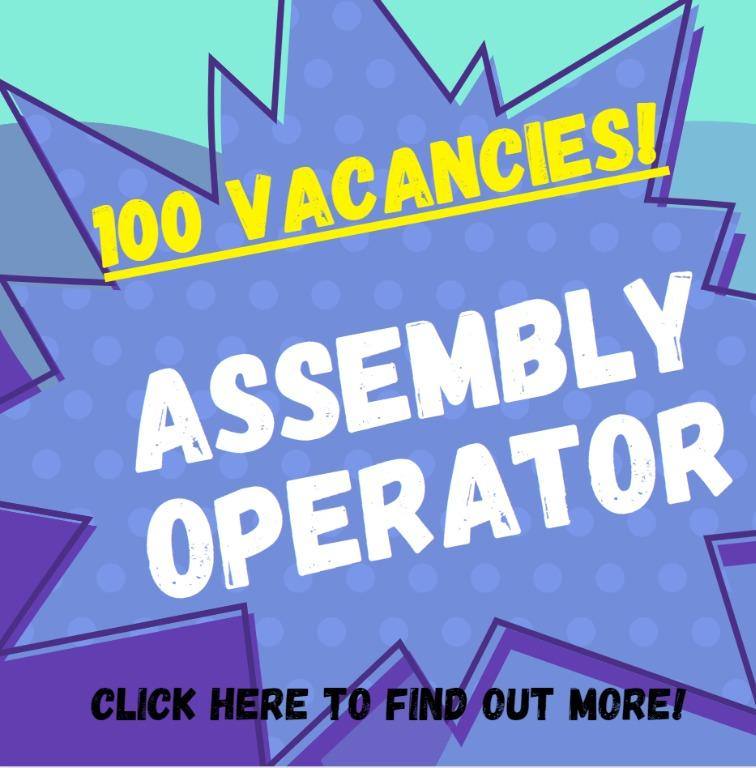 100 X Assembly Operator - East   No Exp Welcome   FastHire