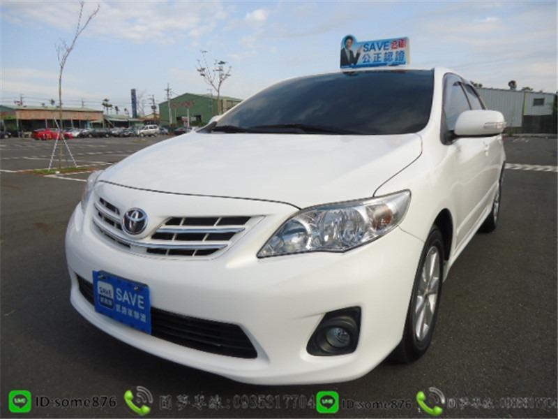 🔥2008年 豐田 ALTIS 白色 職軍專案二手車中古車🔥