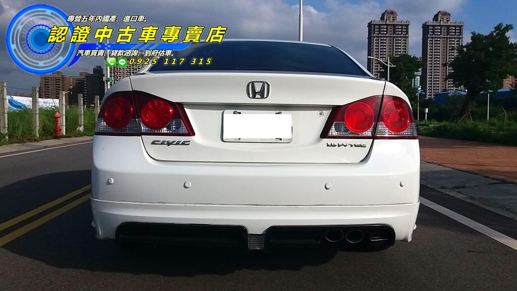 2011年 K12 頂級 本田 CIVIC 8