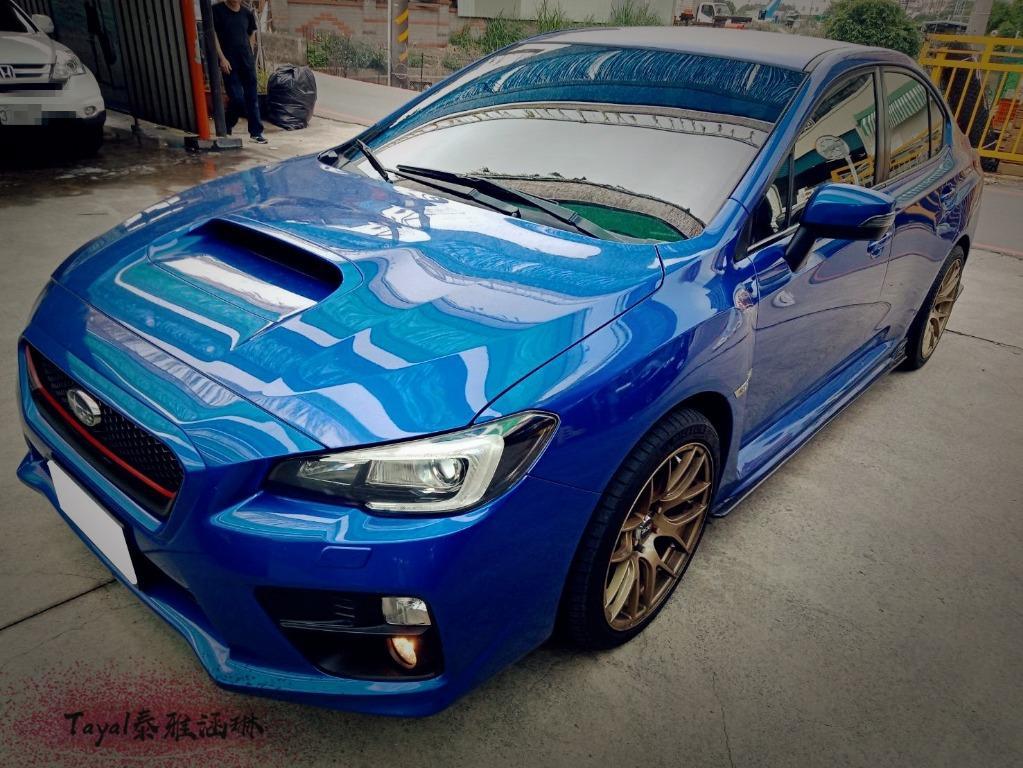 2014年 WRX  藍