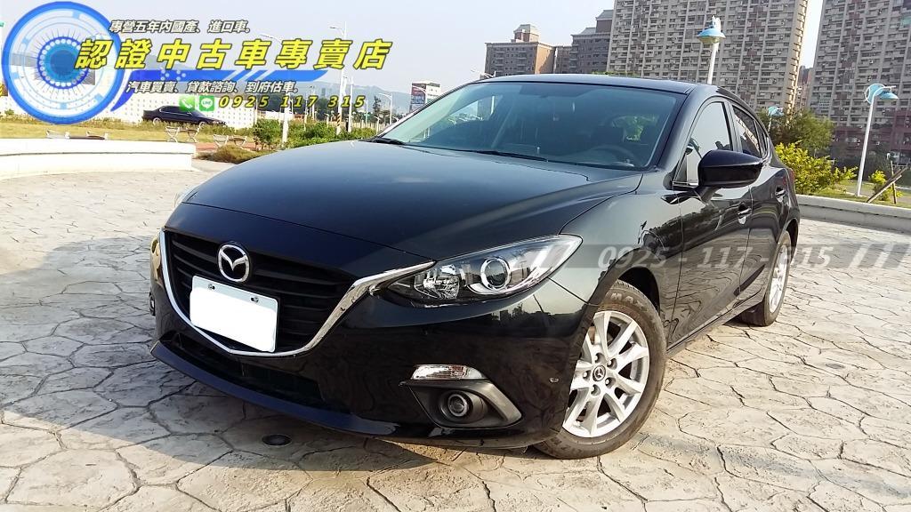 2015年 魂動馬三 五門 一手車 MAZDA3