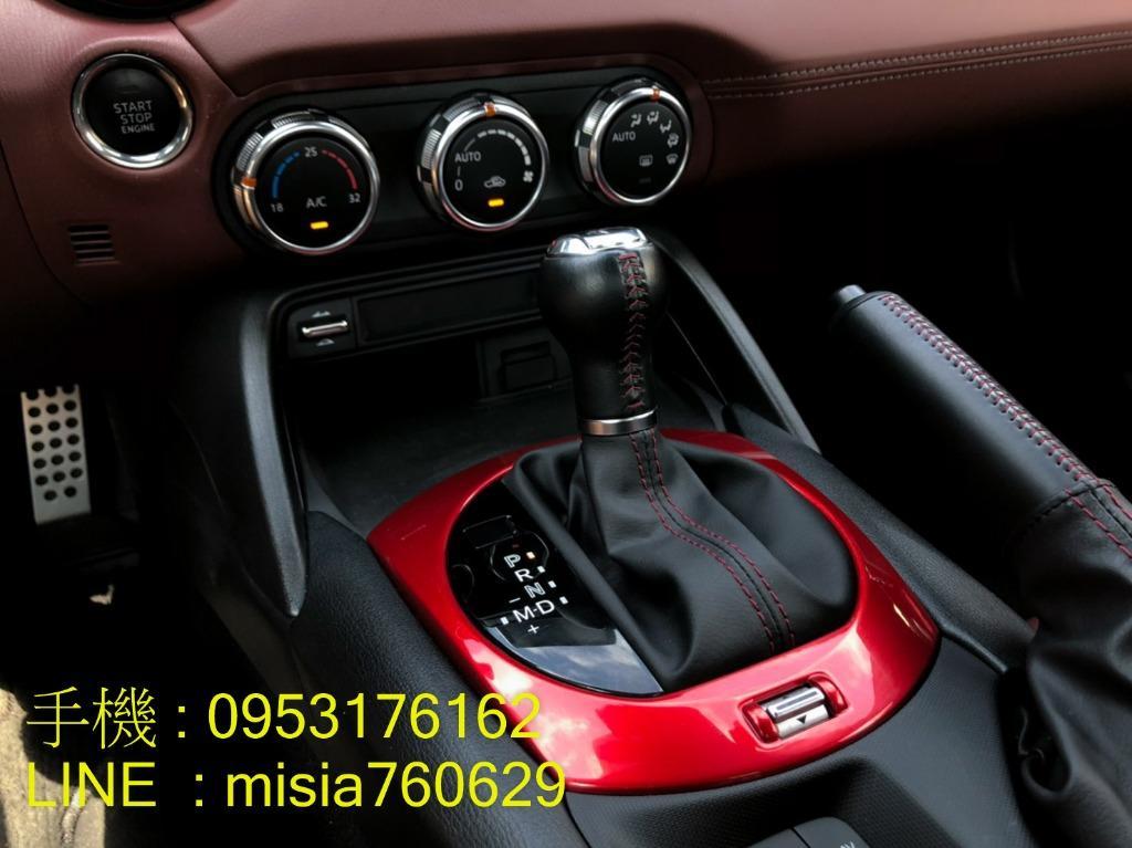 2017年3月 MAZDA MX-5 2.0 紅 / RF旗艦款 / 電動硬頂敞篷