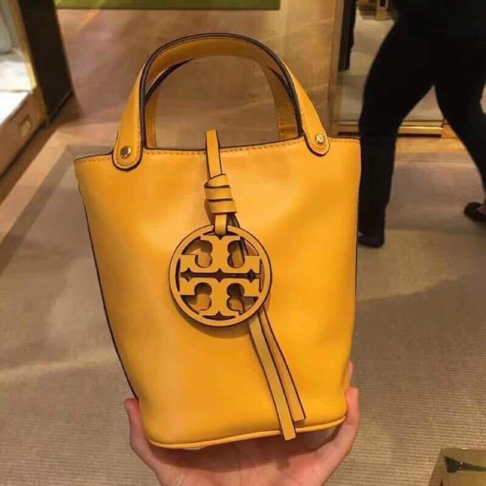 24 hour flash sale❤️ Tory Burch Mini Miller Bucket Bag + Free Prada Cosmetic Pouch