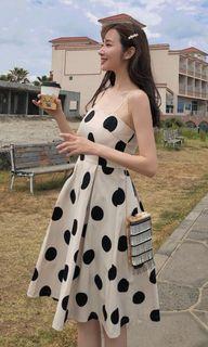 BN Midi Polka Dot Summer Dress