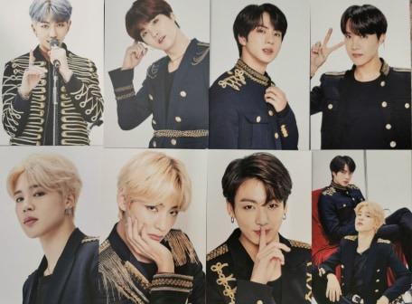BTS JAPAN WORLD TOUR LOVE YOURSELF-SPEAK YOURSELF[THE FINAL]PHOTO CARD SET