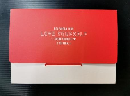 BTS JAPAN WORLD TOUR LOVE YOURSELF-SPEAK YOURSELF[THE FINAL]PHOTO CARD SET