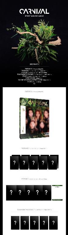 BVNDIT - Carnival - 2nd Mini Album - PREORDER / READY STOCK + FREE GIFT PHOTOCARDS