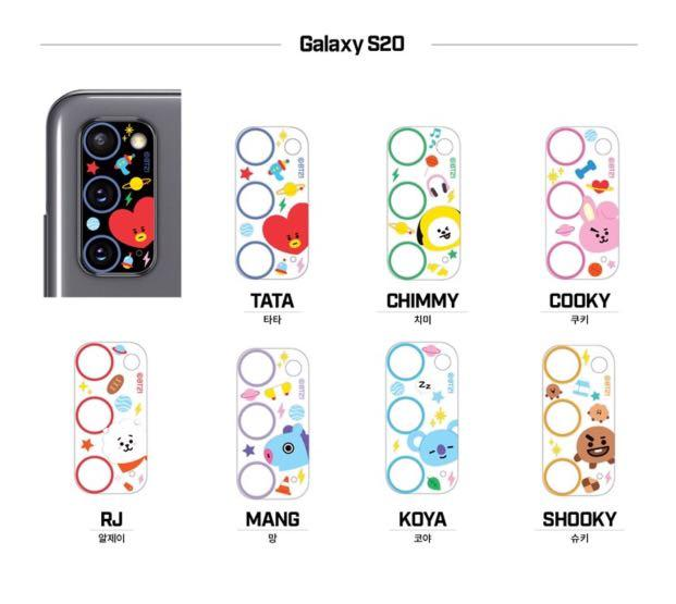 [GROUP ORDER] OFFICIAL BT21 CAMERA PROTECTION COVER