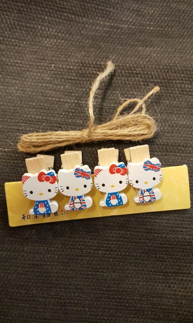 Hello Kitty木製 文具夾(萬用夾)