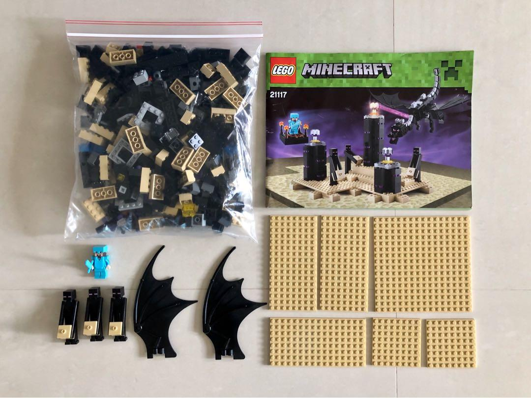 Lego Minecraft Toy 21117 The Ender Dragon Set Toys Games Bricks Figurines On Carousell