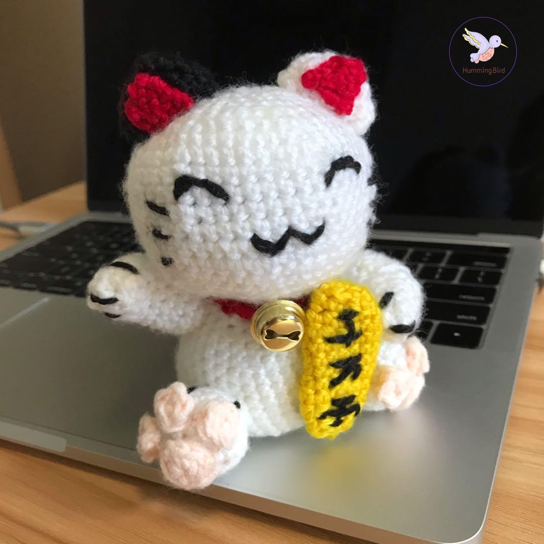 Maneki Neko Lucky Cat Amigurumi Crochet Pattern | This japan… | Flickr | 1080x1080