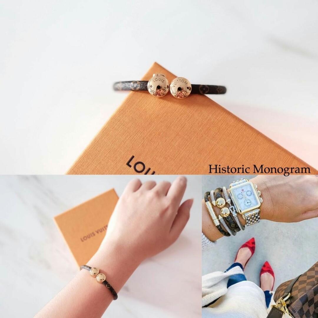 LV Women HISTORIC Bracelet Monogram - size 17 ( setara S ) COMING  - size 19 ( setara M )