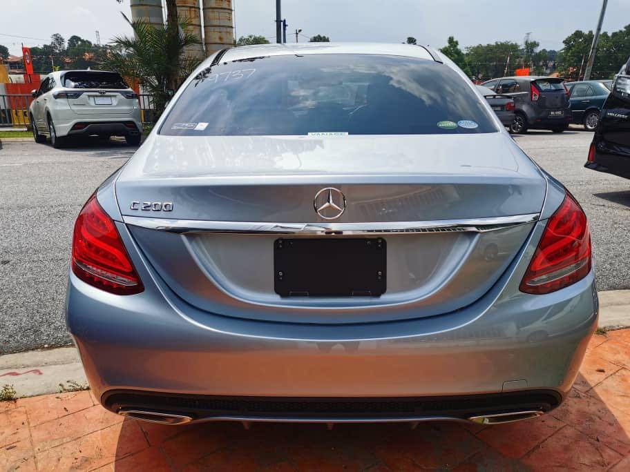 Mercedes C200 AMG RED INTERIOR LIMITED EDITION HIGH SPEC 2015