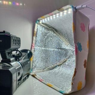 MiniSoft-X: Softbox Mini dengan LED