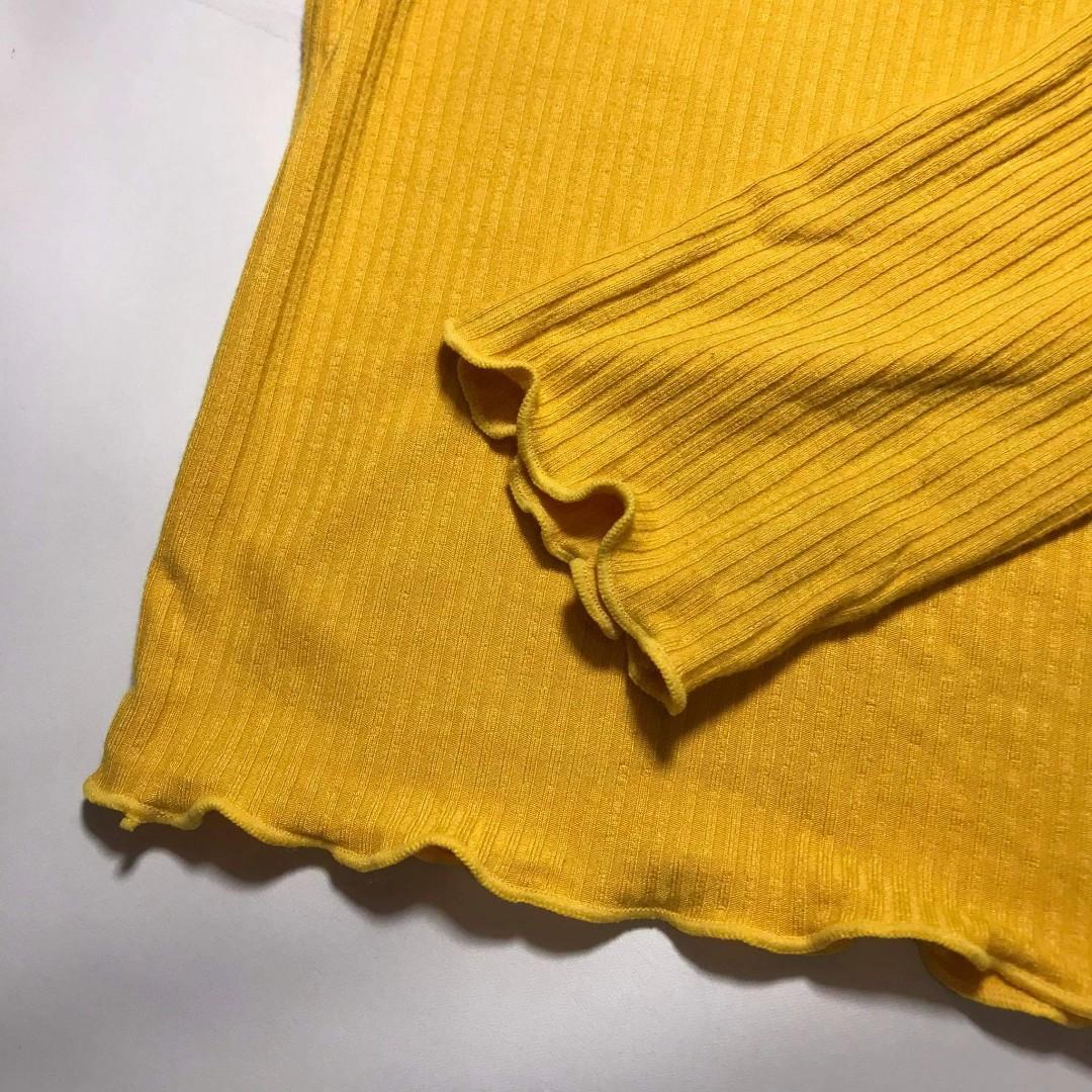 Mustard Yellow Long Sleeve