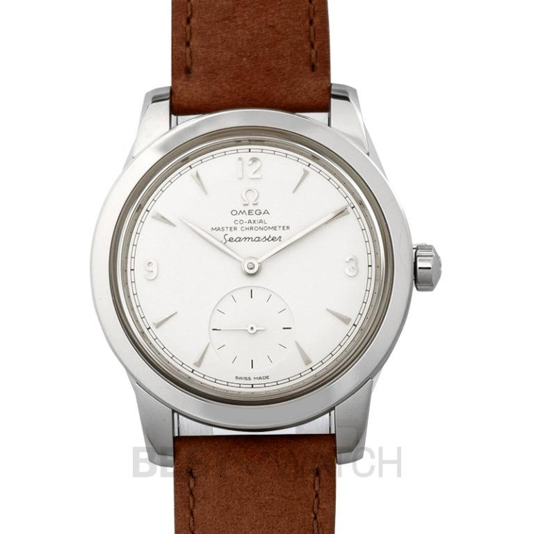 [NEW] Omega Seamaster 1948 Co-Axial Master Chronometer Small Seconds 38mm Automatic Silver Dial Steel Men's Watch 511.12.38.20.02.001