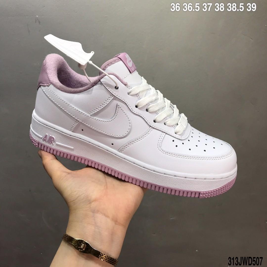 Nike Air Force 1 White/Lavender, Women