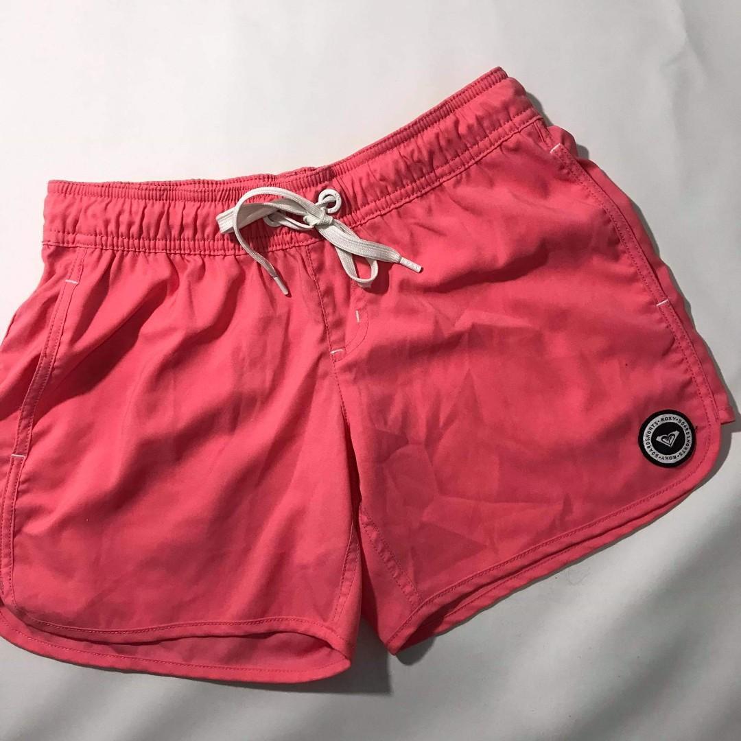 Pink Roxy Board Shorts