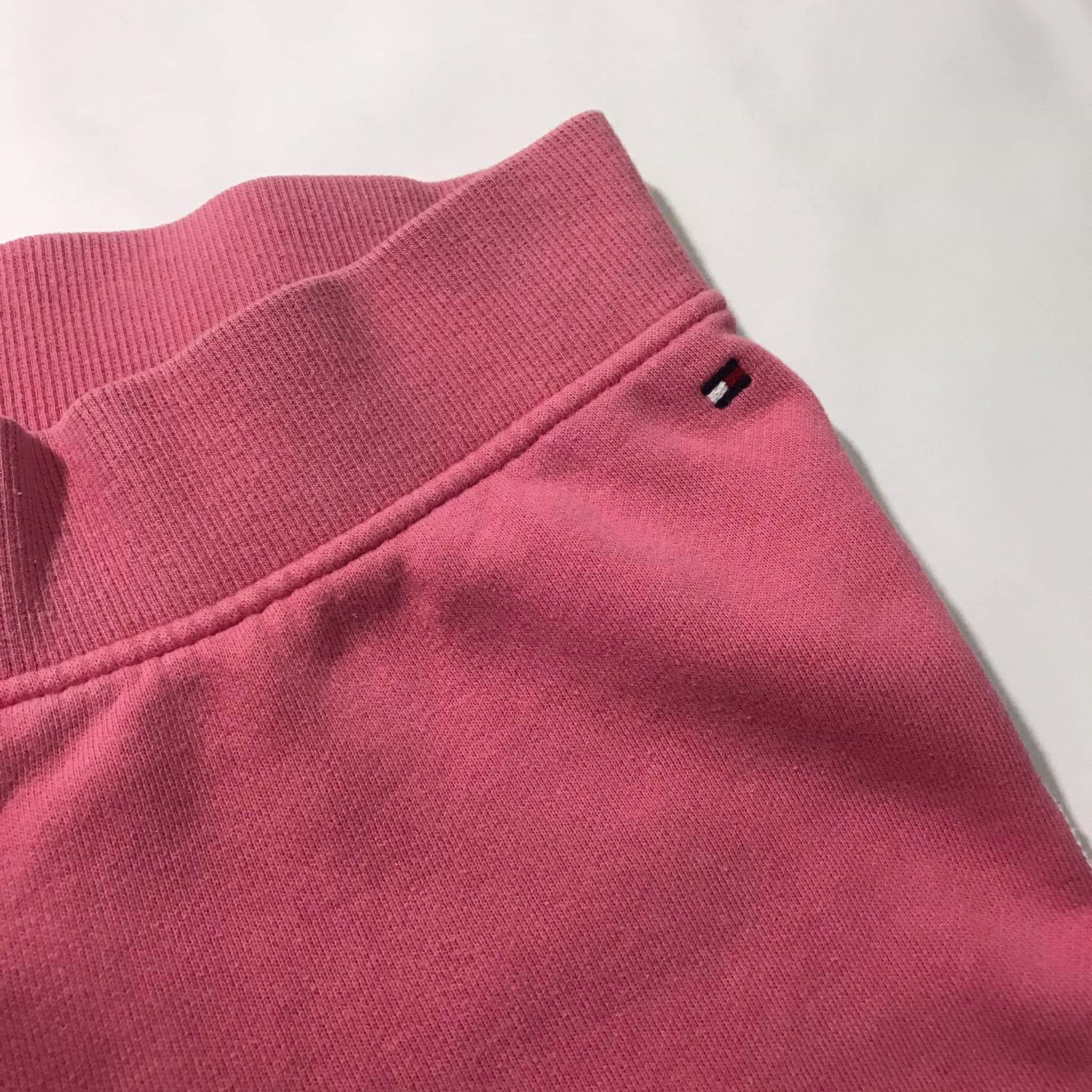 Pink Tommy Hilfiger sweatpants