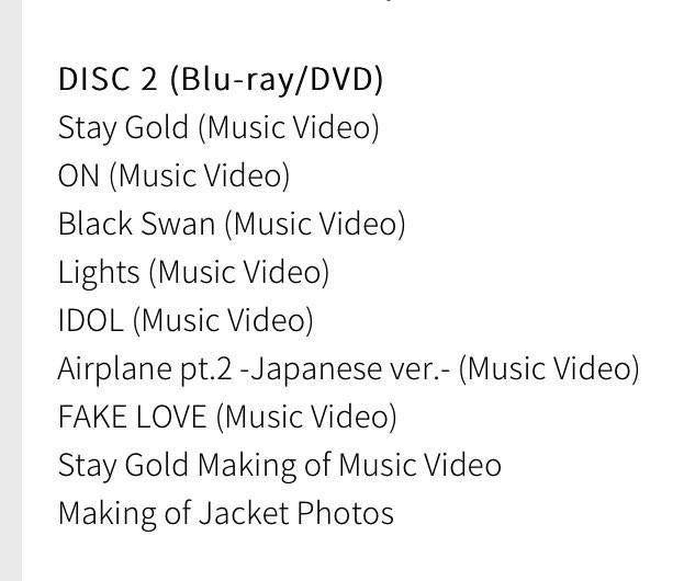 [PO] BTS 4th Japanese Album Map of The Soul : Journey
