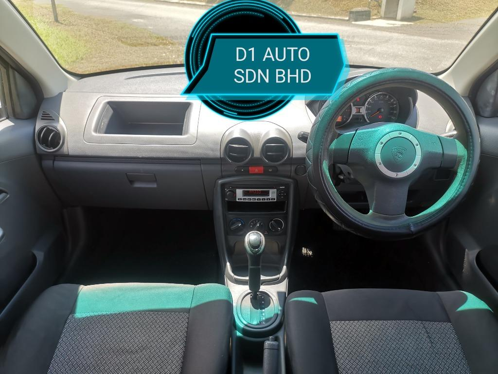 PROTON SAGA 1.3 AT HIGH LINE 1OWNER NEW PAINT SPORT RIM NEW TIRE