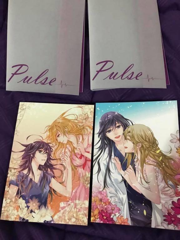 Pulse Volume 1-5 SET by Ratana Satis - Full Color - Original (EXTREMELY RARE - NO MORE RE-PRINT)